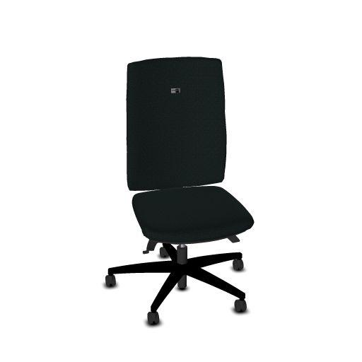 Viasit Bureaustoel Linea rughoogte 60 cm