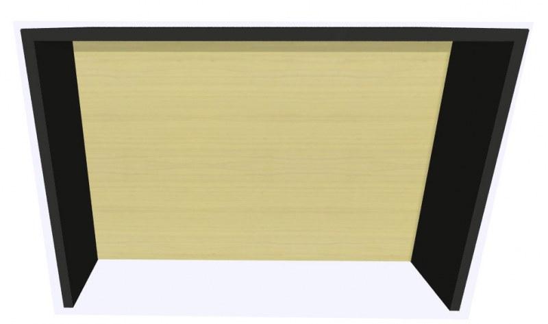 Werner Works K-Modul Stand met tussenwand 160 x 60 cm
