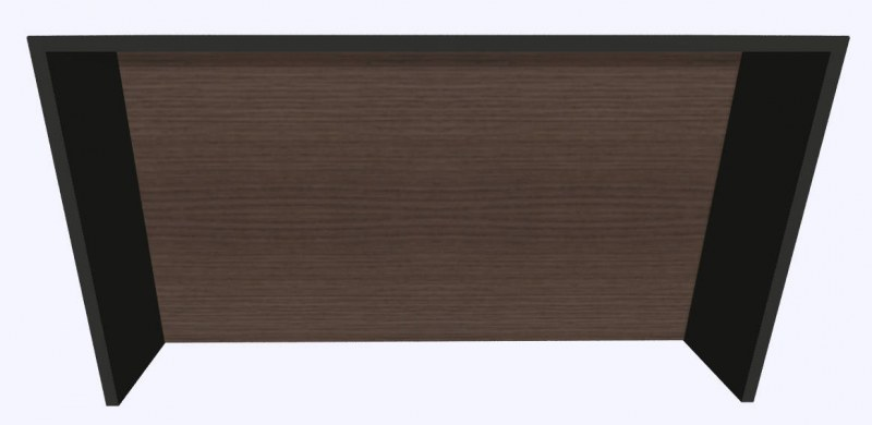 Werner Works K-Modul Stand met tussenwand 200 x 60 cm