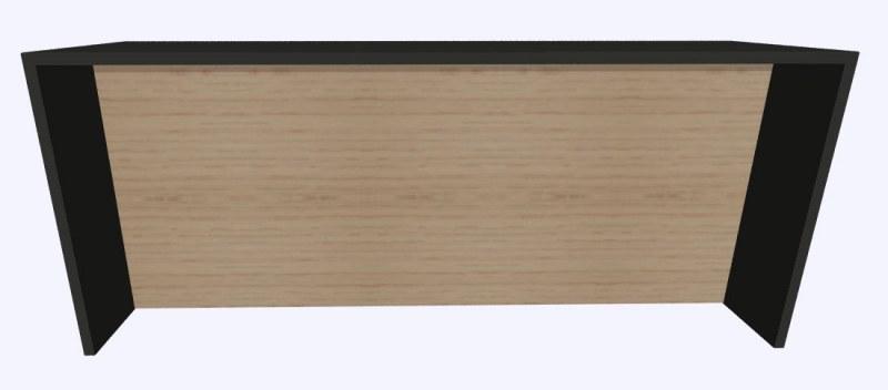 Werner Works K-Modul Stand met tussenwand 260 x 80 cm