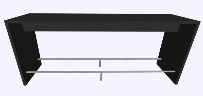 Werner Works K-Modul Stand voetensteun 260 x 60 cm