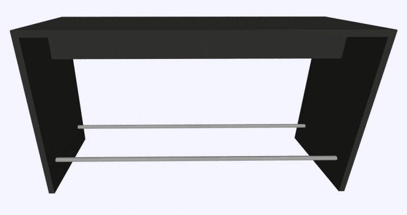 Werner Works K-Modul Stand voetensteun 200 x 60 cm