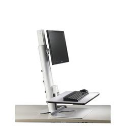 Zit-Sta Werkstation voor enkele monitor