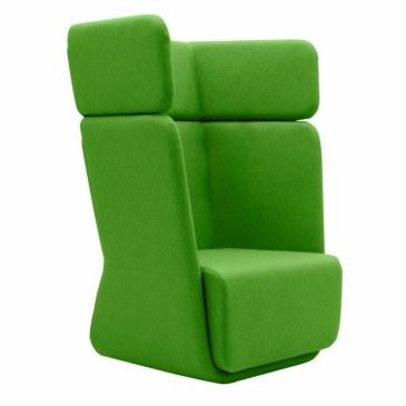 Softline Loungestoel Basket Chair hoge rug  2-579 0