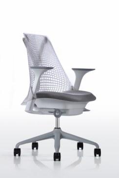 Herman Miller Sayl bureaustoel fog  AS1EA33HA N2 65 BB 63 63 7O081 2