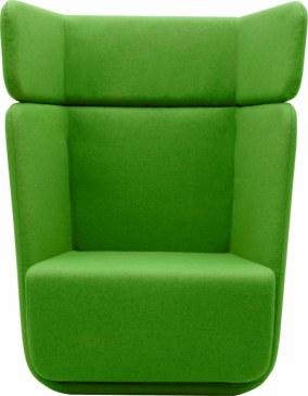 Softline Loungestoel Basket Chair hoge rug  2-579 2