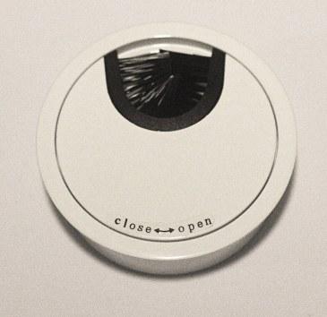 Kabeldoorvoer metaal Ø 66mm wit gelakt  423007.066000022.916 0