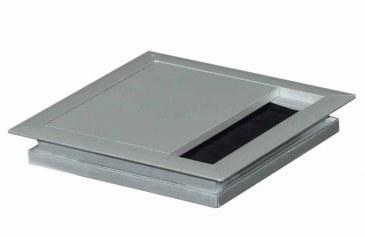 Kabeldoorvoer  100 x 100 x 13 mm aluminium  423011.100100013.000 0