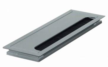 Kabeldoorvoer 80x160x13mm met softclose sluiting  423011.080160014.000 0