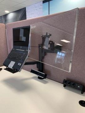 Monitorarm Galaxy enkel + notebook houder  472116.000002995 0