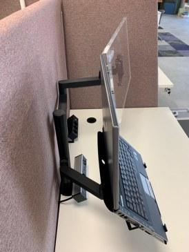 Monitorarm Galaxy enkel + notebook houder  472116.000002995 2