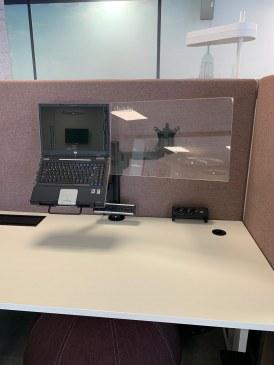 Monitorarm Galaxy enkel + notebook houder  472116.000002995 3
