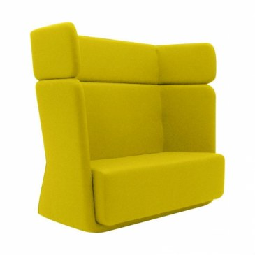 Softline Loungebank Basket Sofa hoge rug  2-581 1