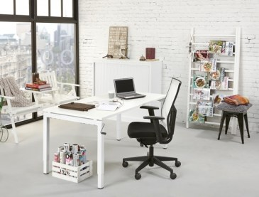 Orange Office 4-poots Bureau met slingerverstelling 180 x 80 cm  OO 4QS188 0