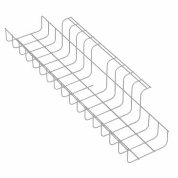 Kabelgoot Trad 490 mm wit  470700.490000000.001 0