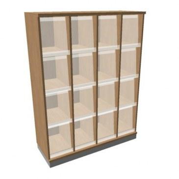 OKA houten documentatiekast 158,7x120x45 cm  SBKAG26 0