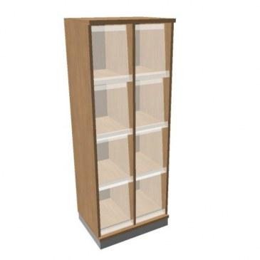 OKA houten documentatiekast 158,7x60x45 cm  SBKAG20 0