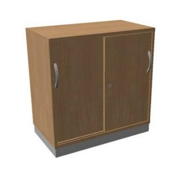 OKA houten schuifdeurkast 82x80x45 cm  SBCCC22 0