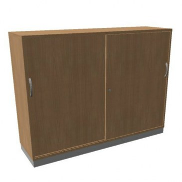 OKA houten schuifdeurkast 120.3x160x45 cm  SBCCE30 0