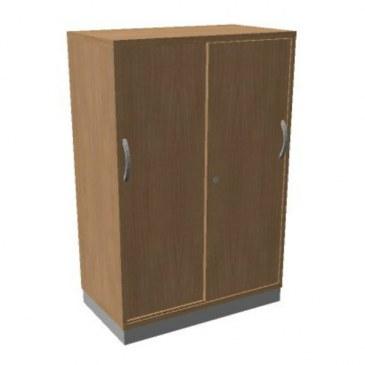 OKA houten schuifdeurkast 120,3x80x45 cm  SBCCE22 0