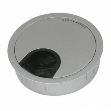 Kabeldoorvoer metaal Ø 80 mm chroom mat  423007.088000022.091 0