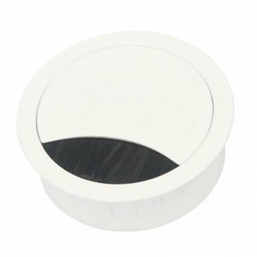 Kabeldoorvoer metaal Ø 80 mm wit gelakt  423009.088080023.001 0