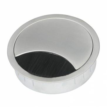 Kabeldoorvoer metaal Ø 80 mm chroom mat  423009.088080023.091 0