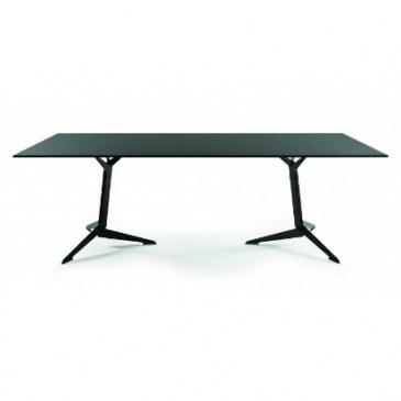 Viasit TRI vergadertafel 200 x 100 cm melamine blad  215.2010M 0