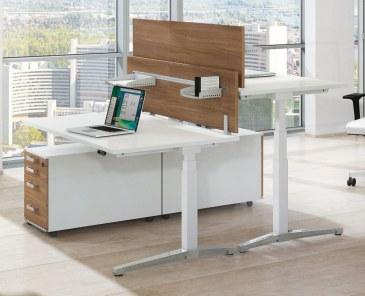 Assmann Canvaro zit-sta bureau elektrisch verstelbaar 160 x 80 cm  STSA1608 1