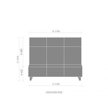 Bejot Voo Voo VV903 loungebank  VV903 3