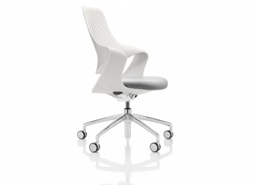 Boss Coza bureaustoel witte rugleuning  COZ/1/P5 0
