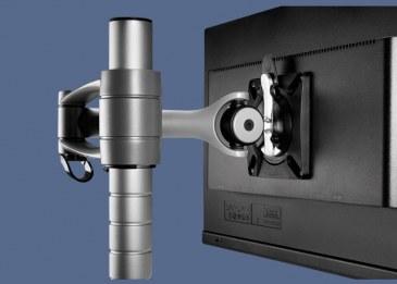 Monitorarm CBS Wishbone  WSH/001/PQR + WSH/PST400/K 3