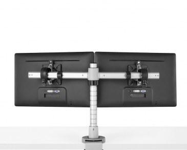 Monitorarm CBS Wishbone dubbel  2 x WSH/001/PQR, WSH/B2B + WSH/PST400/K 0