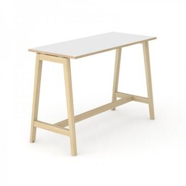 Narbutas Nova Wood hoge vergadertafel 1600 x 700 x 1050 mm  CNM166 0