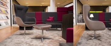 Febru Cosy loungestoel voetenbankje  206057 1