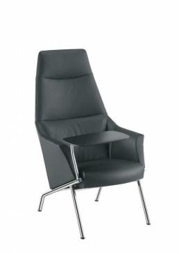 Sesta DAMA plain Loungestoel 4 poten  DL-102-DAMALP01PTCR 0