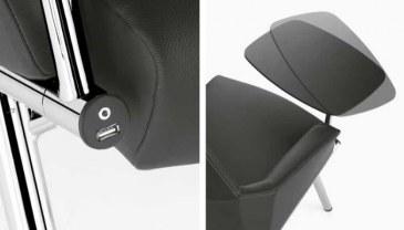 Sesta DAMA plain Loungestoel 4 poten  DL-102-DAMALP01PTCR 1