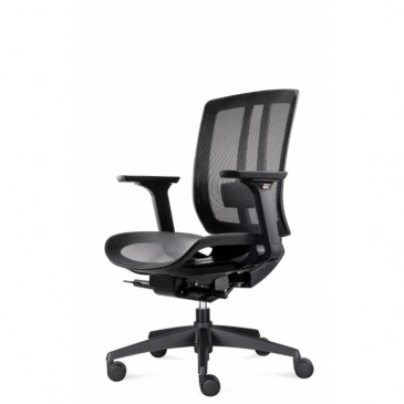 Bowerkt bureaustoel FYC 216D- Synchro 4    FYC 216D - Synchro 4 0