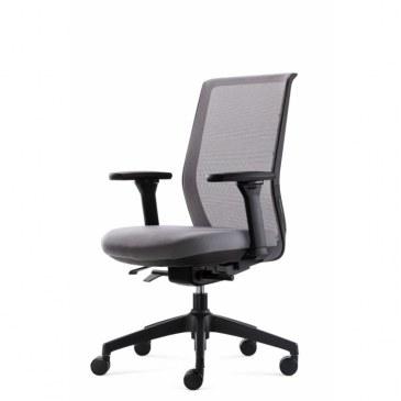 Bowerkt bureaustoel FYC 237 - Synchro 4  FYC 237 Synchro-4 2