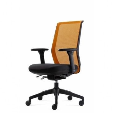 Bowerkt bureaustoel FYC 237 - Synchro 4  FYC 237 Synchro-4 1