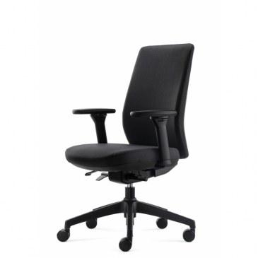 Bowerkt bureaustoel FYC 318 - Synchro 4   FYC 318 - Synchro - 4 0