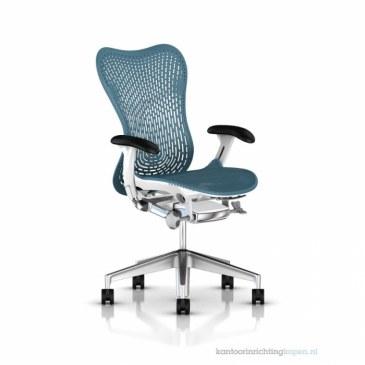 Herman Miller Mirra 2 turquoise bureaustoel MRF132  MRF132AWAP N2 6KA BB DTR BK 0