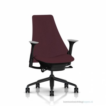 Herman Miller Sayl bureaustoel  AS1ED32HA-N2-BK-1D04 0