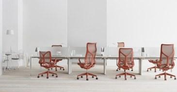 Herman Miller Cosm bureaustoel hoge rug  FLC163 4