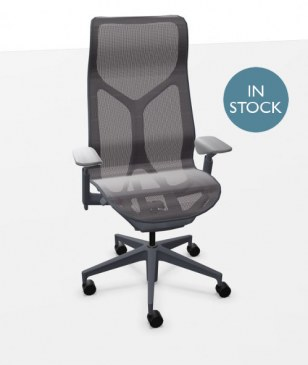Herman Miller COSM bureaustoel met hoge rug grafiet  FLC163SFHG1G1G1BKS84501-SLA 0