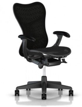 Herman Miller Mirra 2 bureaustoel MRF133 met gestoffeerde rug  MRF133AWAFAJG1BBG18M17BK1A703-SLA 0