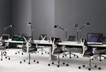 Herman Miller Sayl bureaustoel   AS1EA33HA N2 BK BB RO BK 11601 1