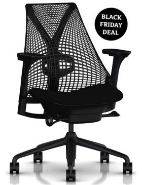 Herman Miller Sayl bureaustoel AA Black BF2020   0