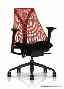 Herman Miller Sayl bureaustoel   AS1EA33HA N2 BK BB RO BK 11601 0