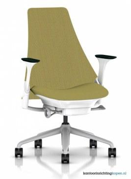 Herman Miller Sayl bureaustoel gestoffeerd  AS1EC32HA N2 65 BB 61 1D05 0